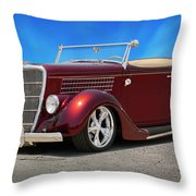 1935 Ford Roadster Throw Pillow