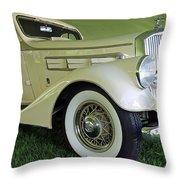 1935 Pierce Arrow Throw Pillow