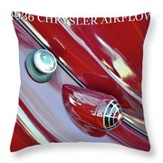 1936 Chrysler Airflow B Throw Pillow