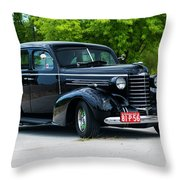 1937 Oldsmobile F 37 Throw Pillow