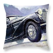 1938 Horch 855 Special Roadster Throw Pillow