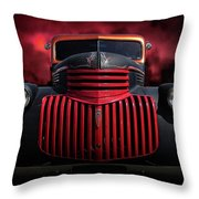 1946 Pickup Throw Pillow