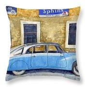 1948-1949 Tatra T87 Throw Pillow