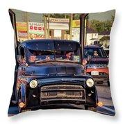1951 Dodge Fargo Tractor Truck Throw Pillow