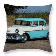 1956 Chevrolet 210  Throw Pillow