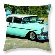 1956 Chevrolet Custom Model 2010  Throw Pillow
