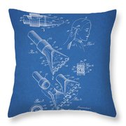 1964 Salon Suction Patent Throw Pillow