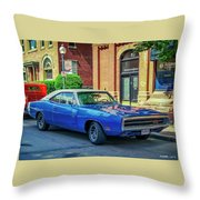 1970 Dodge Charger R/t Throw Pillow