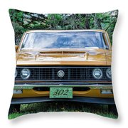 1970 Ford Torino Gt Throw Pillow