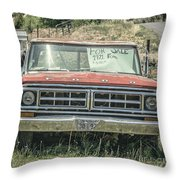 1971 Ford Pickup Truck For Sale In Utah Throw Pillow