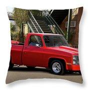 1983 Chevrolet C10 Lrhh Pickup I Throw Pillow