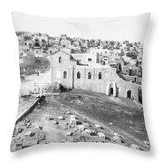 Bethlehem 19th Century Throw Pillow