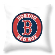 Boston Red Sox Throw Pillow