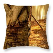 Branch To Branch Throw Pillow