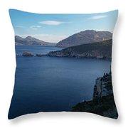 Carp Bay In Freycinet National Park Throw Pillow