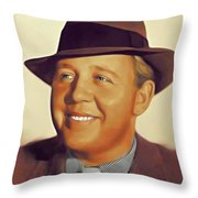 Charles Laughton, Vintage Actor Throw Pillow