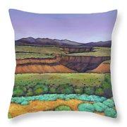 Desert Gorge Throw Pillow