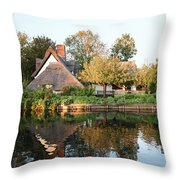 Flatford Mill Throw Pillow