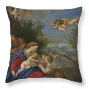 Francesco Albani  Throw Pillow