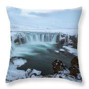 Godafoss - Iceland Throw Pillow