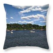 Greenwich Bay Throw Pillow