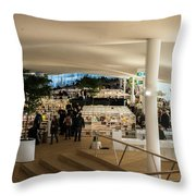 Helsinki Central Library Throw Pillow