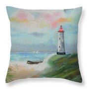 Hickering Harbor Throw Pillow