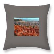 Hoodoo's Bryce Canyon  Throw Pillow