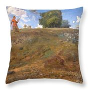 In The Auvergne Throw Pillow
