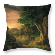 In The Berkshires  Throw Pillow