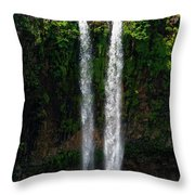 Mauritius. The 90 Meter High Twin Throw Pillow