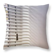 Modern Window Blind Throw Pillow