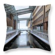 Oslo - Norway Throw Pillow