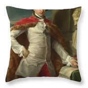 Portrait Of Richard Milles  Throw Pillow