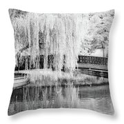 Reflections Of The Landscape Throw Pillow