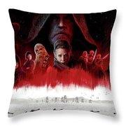 Star Wars The Last Jedi  Throw Pillow
