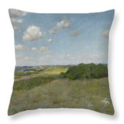 Sunlight And Shadow, Shinnecock Hills Throw Pillow
