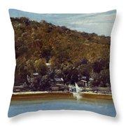 The Camp, Sirius Cove Throw Pillow