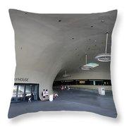 The New Art Center In Taiwan Throw Pillow