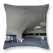 The New Art Center In Taiwan Throw Pillow