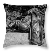 The State Of Louisiana Monument Throw Pillow