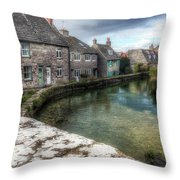 Swanage - England Throw Pillow