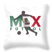 2018 Soccer Cup Mexico Flag Mex Championship Iso Throw Pillow