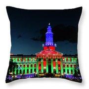 2019 Civic Center Denver Throw Pillow