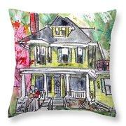 2208 Market Street 2 Throw Pillow