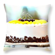 23 Eat Me Now  Throw Pillow