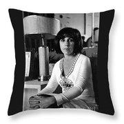 a Cuban woman Throw Pillow