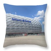 Allianz Arena Munich  Throw Pillow