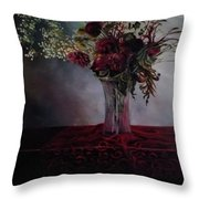 Beauty For Ashes Throw Pillow by J Reynolds Dail