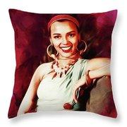 Dorothy Dandridge, Hollywood Legend Throw Pillow